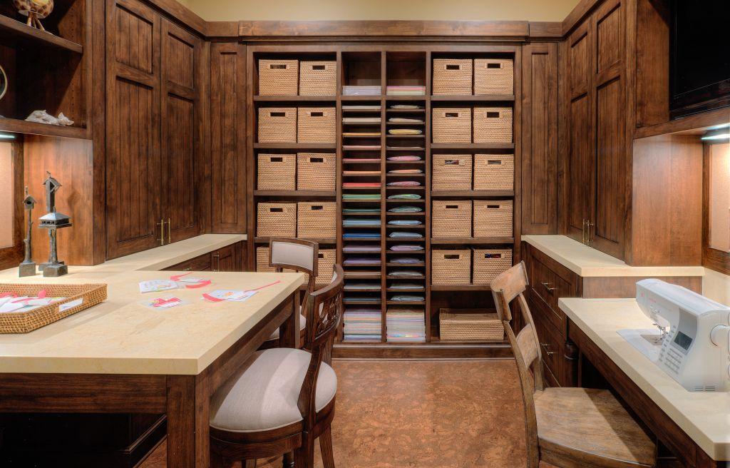 Elegant Craft Room